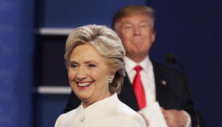 'Nekad nesaki nekad': Klintone neizslēdz kandidēšanu uz ASV prezidenta amatu
