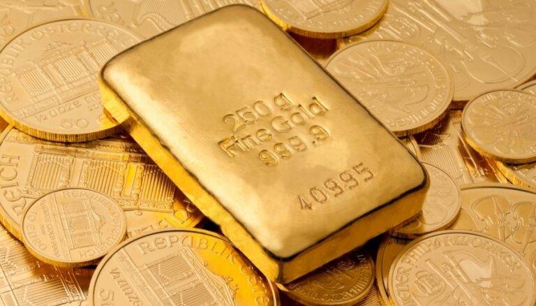Спекулянты устроили обвал цен на золото