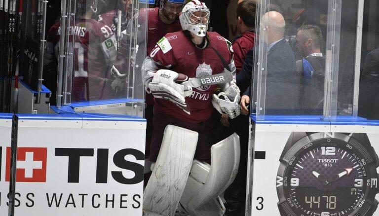 Latvijas hokejisti ar maču pret norvēģiem noslēdz dalību pasaules čempionātā