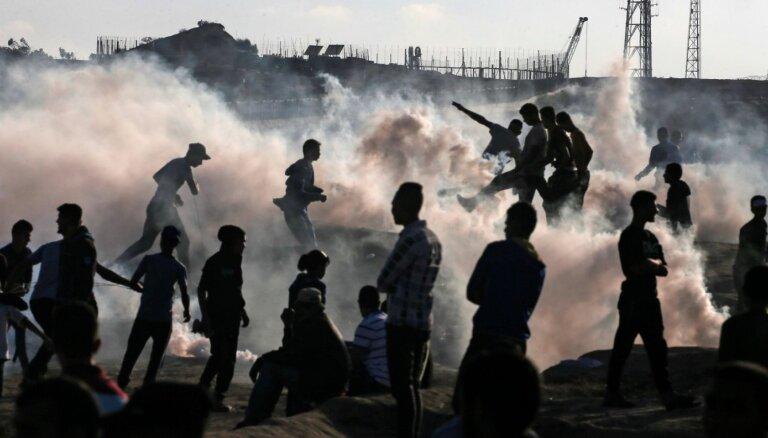 Gazas joslā noslēgts pamiers, ziņo avoti