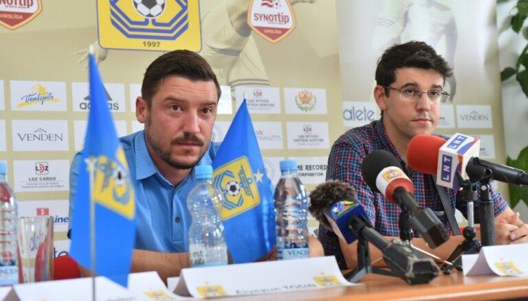 Pazudušā Akenjemi lieta: klubs kategoriski noliedz draudēšanu futbolistam un aicina viņu atgriezties Ventspilī