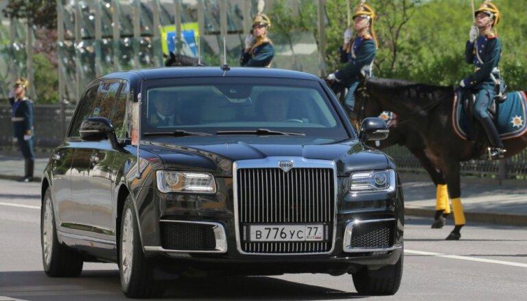 """Восемь фактов о новом президентском лимузине """"Кортеж"""""""