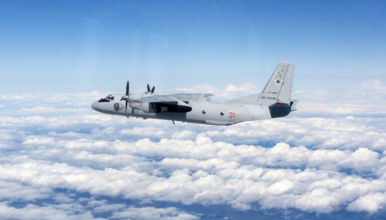 Pie Latvijas jūras robežas konstatēta Krievijas armijas lidmašīna
