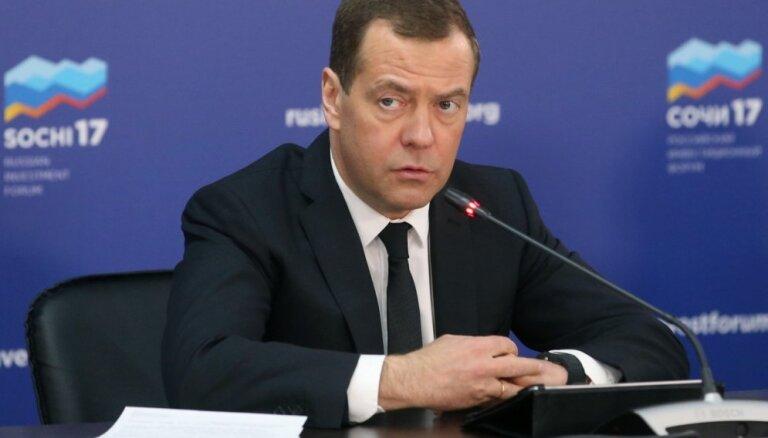 """Медведев ответил на фразу главы Грузии """"Россия — наш враг и оккупант"""""""