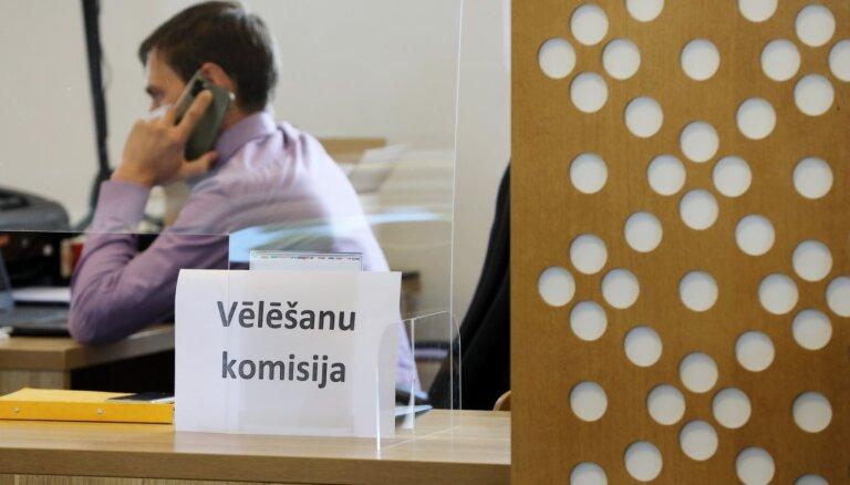 Голоса подсчитаны на 754 участках, из-за проблемной ситуации они не подсчитаны в Саласпилсском крае