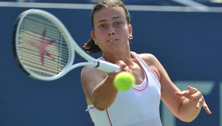 Sevastovai divu pozīciju kritums WTA rangā