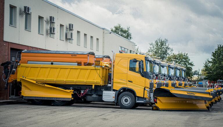 Uz vairāk nekā 600 km valsts autoceļu veikti slīdamības samazināšanas darbi