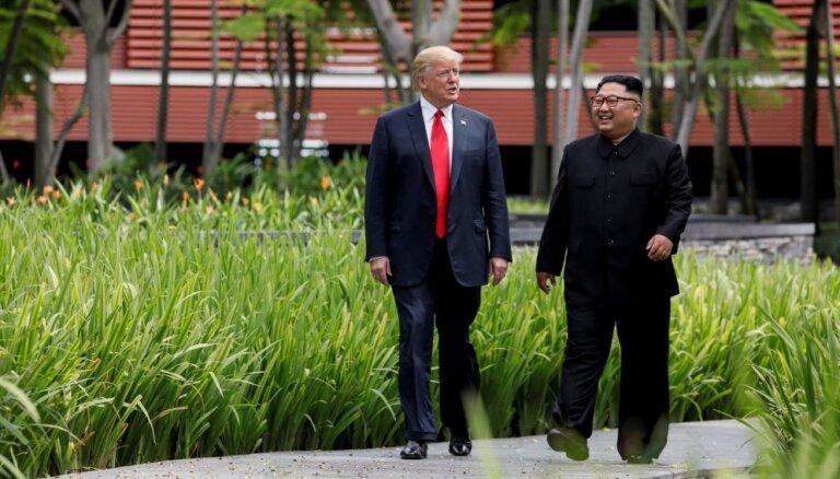 Ziemeļkoreja neatbruņosies, ja turpināsies sankcijas, brīdina ministrs