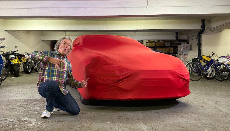 Video: Džeimss Mejs parādījis savu jauno auto