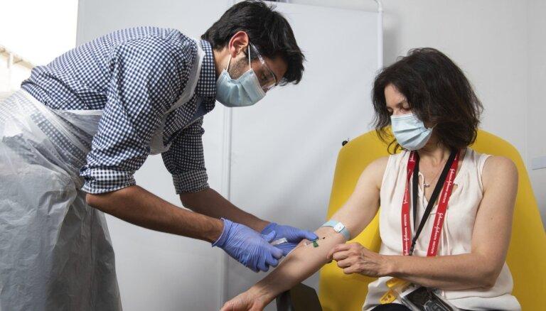 В субботу в восьми центрах вакцинации от Covid-19 привито более 5000 человек