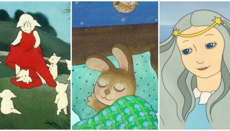No 'Zaķīšu pirtiņas' līdz 'Kabatai'. 10 nozīmīgas latviešu animācijas klasiķes Rozes Stiebras filmiņas