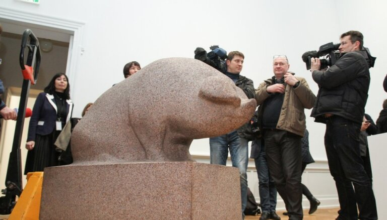 Mākslas restaurācija muzejā: tēlniecības darbi