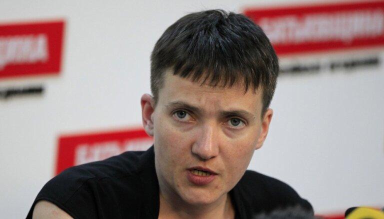 Сестра Савченко рассказала о ее проблемах из-за голодовки