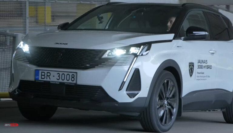 """Peugeot 3008 PHEV 4WD: французский """"электроснаряд"""" с 300-сильным двигателем (ВИДЕО)"""