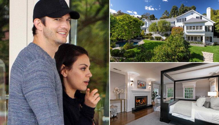 ФОТО: Мила Кунис и Эштон Катчер выставили на продажу свой дом за 14 миллионов