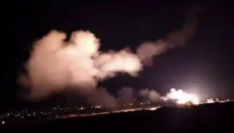 Израиль нанес по Сирии самый масштабный удар после инцидента с Ил-20