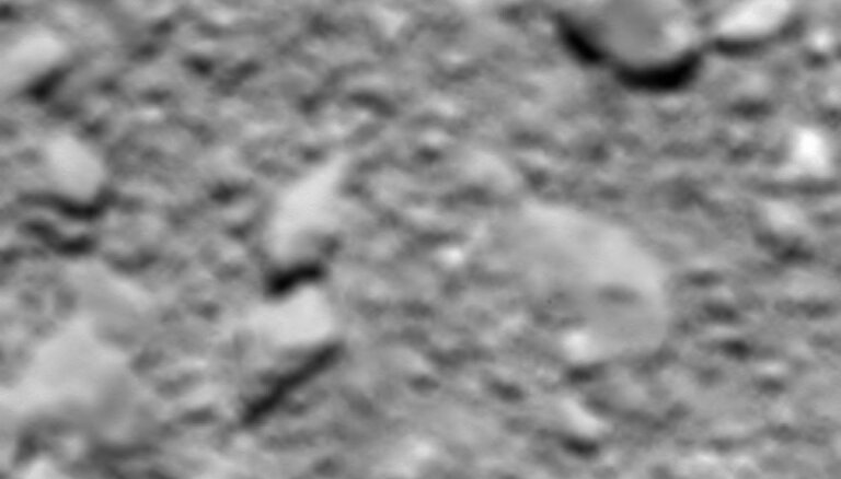 'Rosetta' uzņem pēdējo komētas attēlu un noslēdz vēsturisko misiju