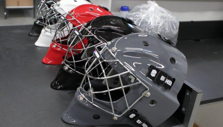 Foto: Latvijā izgudrots aizsargekipējums lūkojas uz jauniem sporta veidiem