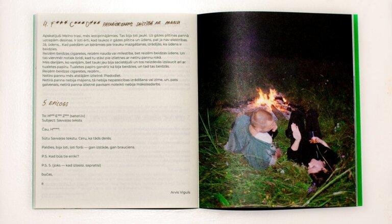 Klajā laists bezmaksas izdevums par Andra Eglīša izstādi 'Savvaļa'