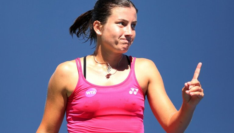 С новым рекордом в рейтинге WTA Севастова вернула звание первой ракетки Латвии