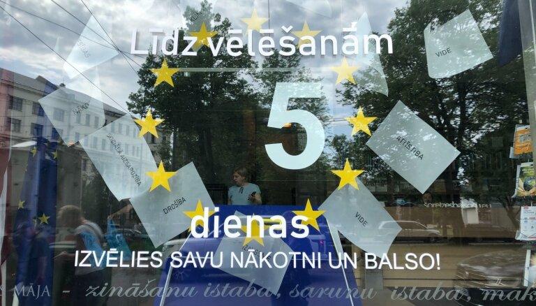 EP vēlēšanas: CVK un EPBL aicina neaizmirst par savu pilsoņa pienākumu