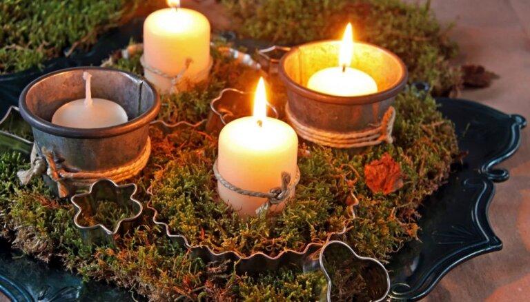 Pirmspēdējā svecīte līdz Ziemassvētkiem – klāt trešā Advente