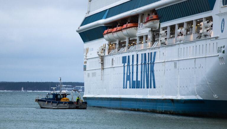 Aptur prāmju satiksmi starp Helsinkiem un Tallinu