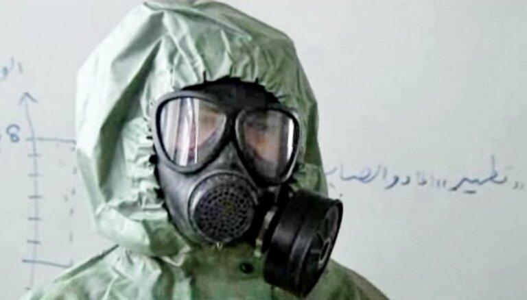 Sīrijas karā notikuši vairāk nekā 300 ķīmiskie uzbrukumi, raksta laikraksts