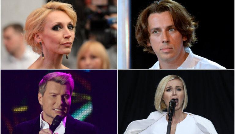 Krievijas estrādes zvaigznes sēro par Kobzona nāvi