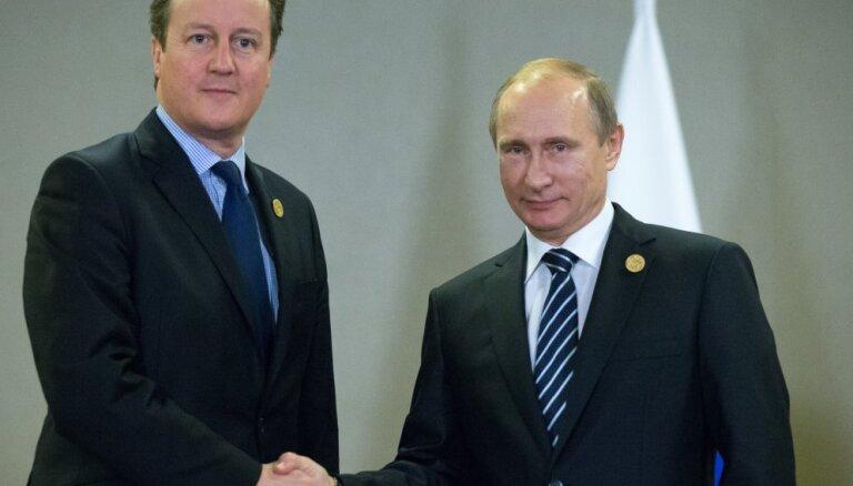"""""""Националист старой закалки"""". Что Кэмерон рассказал о Путине"""