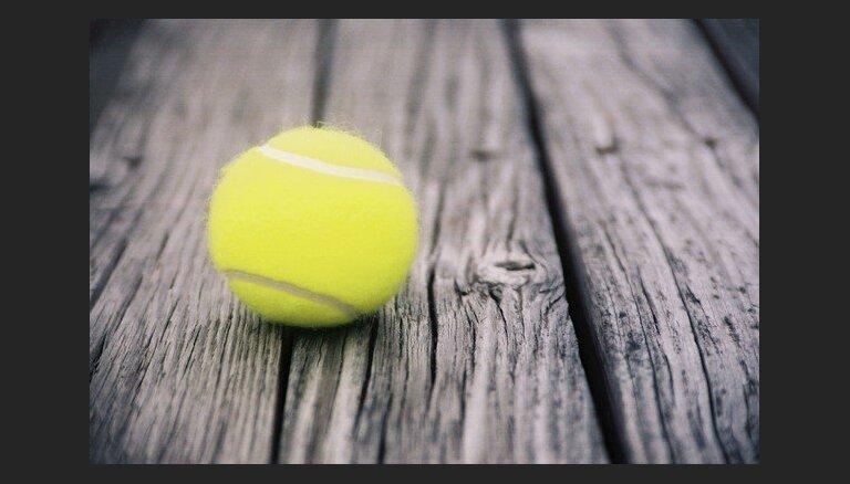 Bērnus ar īpašām vajadzībām aicina izmēģināt tenisa spēli