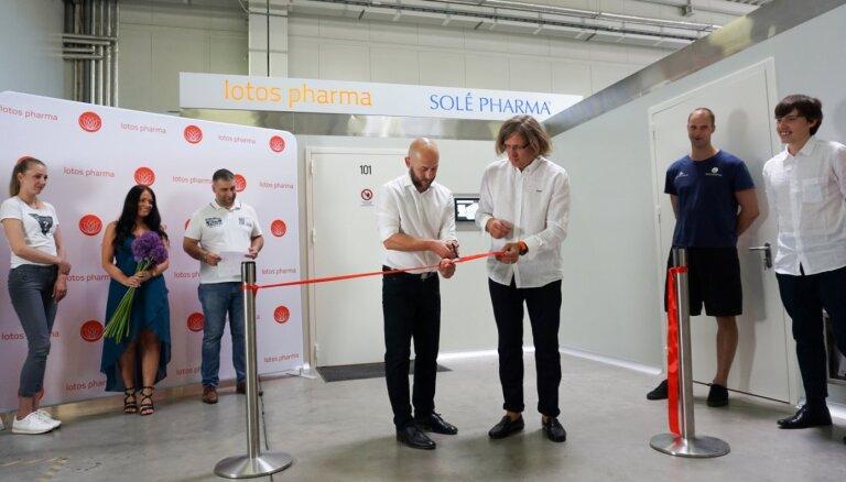 Farmācijas uzņēmums 'Lotos Pharma' ražotnē investē pusmiljonu eiro