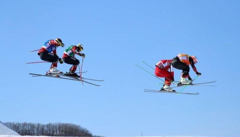 XXIII Ziemas olimpisko spēļu rezultāti frīstailā slēpošanas krosā vīriešiem (21.02.2018.)