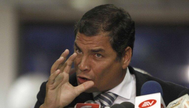 """Эквадор: угроза Лондона — """"дипломатический суицид"""""""
