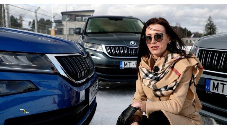 Video: Baumanis pret Salmiņu 'parkošanās' izaicinājumā Biķernieku trasē