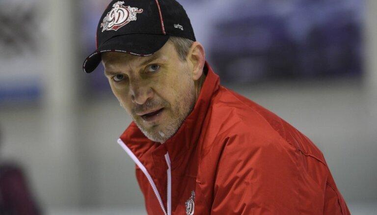 Ozoliņš Rīgas 'Dinamo' galvenā trenera amatā debitē ar zaudējumu pārbaudes spēlē