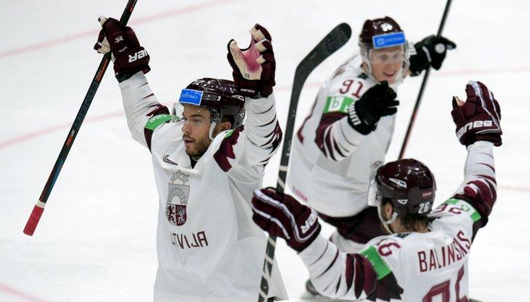 Video: Indrašis, Jaks, Marenis un Ķēniņš – vārtu guvēji Latvijas izlases pēdējā PČ mačā