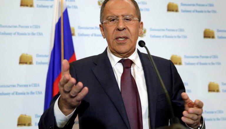 """Лавров обвинил США в попытках вынудить Европу отказаться от """"Северного потока-2"""""""