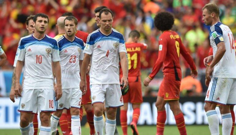 ЕC не будет распространять санкции против России на футбол