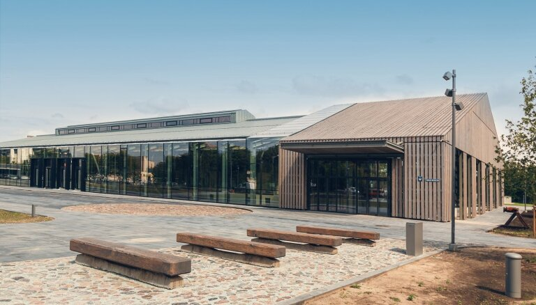 2020. gada balvu Rīgas arhitektūrā saņem Hanzas perons