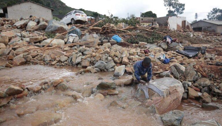 Ciklonā 'Idai' bojāgājušo skaits Āfrikas dienvidos pārsniedzis 760