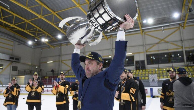 Cipruss neslēpj, ka bijis patīkami apspēlēt citus OHL trenerus