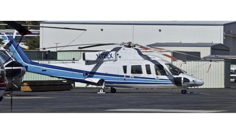 Braienta izmantotais helikopters bija kā limuzīns ar paaugstinātu izturību