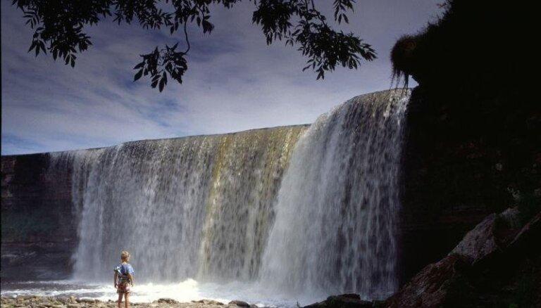 Dabas brīnums Igaunijā: majestātiskais Jegalas ūdenskritums