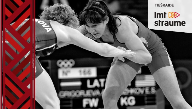 Vidējais latvietis pret olimpieti Anastasiju Grigorjevu. Video tiešraide noslēgusies