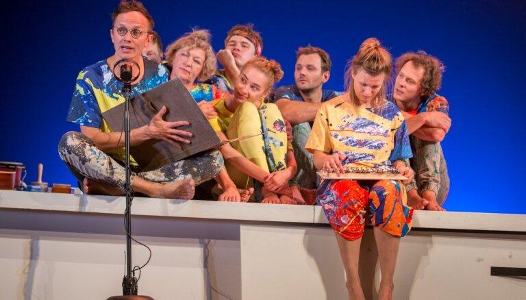Valmieras teātrī tapusi muzikāla izrāde bērniem ar Renāru Kauperu un Goran Gora