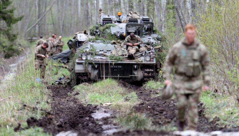 Britu karavīri Igaunijā saņēmuši draudu vēstules; aizdomās tur Krieviju