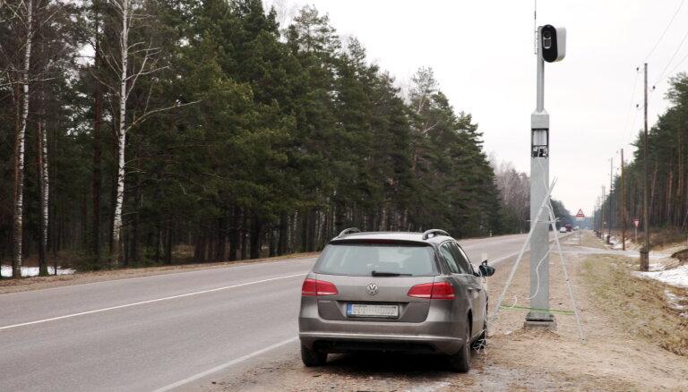 Beidzies līgums par 100 Latvijā uzstādīto fotoradaru apkalpošanu