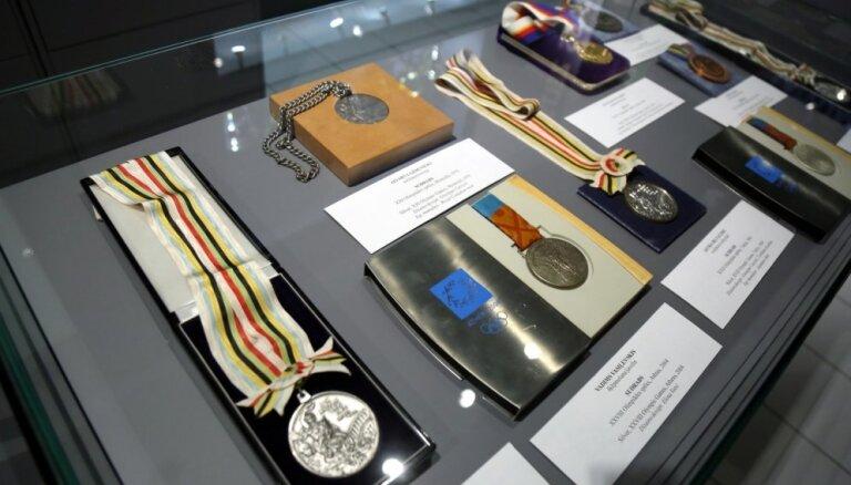 LSM atklāta Latvijas olimpiešu Goda zāle 'Zelts. Sudrabs. Bronza'