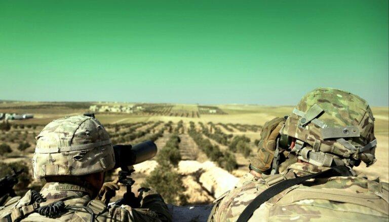 Tramps gatavojas izvest ASV spēkus no Sīrijas
